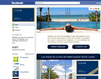 Facebook's Aclub pages by StudioTricot.com