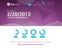 FooCamp: Conference Wordpress Theme