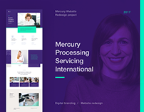 Mercury Website / Branding