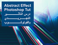 Abstract photo effect Photoshop Tutorial