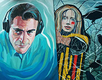 "Paintings / ""The Master"", ""The Village"""