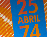 "Serigraphy - C Series         ""25 Abril"""