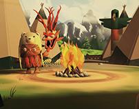 Yululu // 3D game - 2013