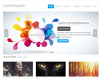 Superweb | HTML5 Bootstrap Website Template