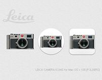LEICA CAMERA ICONS for Mac OS v.1.00 [FOLDERS]