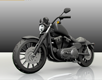 3D HD Sportster IRON 883
