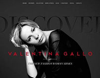 Web Site VALENTINA GALLO