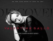 Web Site VALENTINA GALLO