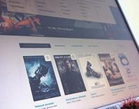 Movies online UI