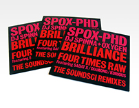 SPOX-Phd (DJ Spinna & Oxygen) 'Soundsci Remixes' 7""
