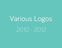 Various Logos 2010 - 2012