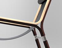 3D Veneer Chair