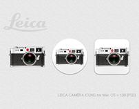 LEICA CAMERA ICONS for Mac OS v.1.00 [PSD]