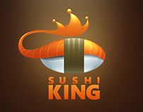 """Sushi King"" Logotype"