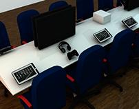 Renders de previsualización para proyecto e-learning