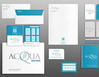 Brand Book & Estacionário - ACQUA DAY SPA