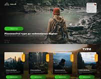 Landing page Tours to mouintain