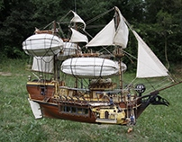 L'Heremit - Barco volador / Flying Ship