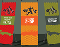 Nerdy Derby event collateral