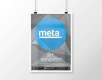 Meta Art Expo - Logo and Branding