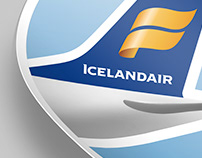 Icelandair promo sticker