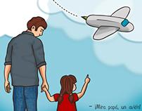 Ilustración para la revista online Ese Dos Uno