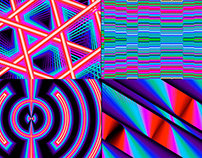 Color Glitches - VJ Loop Pack (5in1)
