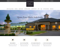 Southern Home & Garden Website design : proposed only