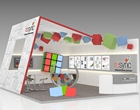 Company booth at instoreasia 2012