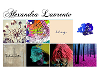 Alexandra Lavrente - website layout