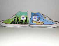 The Beatles Converse