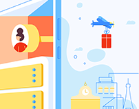 GearedApp Branded Illustrations & Animation