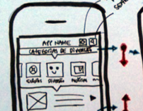 Mobile media app concept