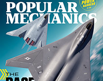 Popular Mechanics cover and interior illustration 07/21