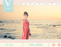 Vee Collection Website Design