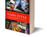 Paris Style Book Cover Design