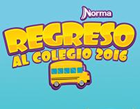 Regreso al Colegio 2016 // Norma
