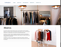 Clothing Rack Website Development