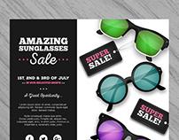 Realistic Summer Sale Flyer III | Designed for Freepik
