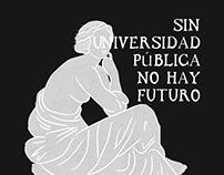 Afiche por la Universidad Pública