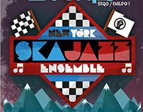 Graphic Design / New York Ska Jazz Ensemble Show