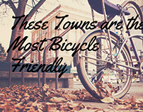 These Towns are the Most Bicycle-Friendly