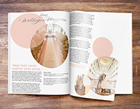 Disney Weddings Magazine Layout