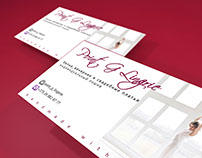 Business cards for dress shop in Grodno!