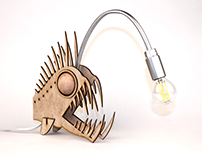 ABYSSAL FISH LAMP