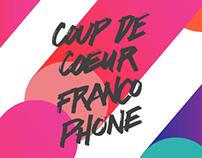 COUP DE COEUR FRANCOPHONE 2015