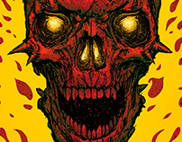 High on Fire concert poster