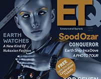 Faux Sci-Fi Magazine Cover