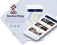 BarberStop App - On demad Barber Services