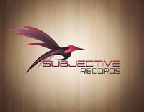Subjective Records Logo Redesign